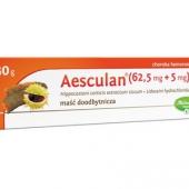Aesculan, maść doodbytnicza, 30g