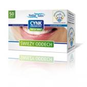 Cynk organiczny Naturtabs FreshMint 50 tabletek
