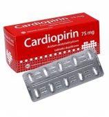 Cardiopirin 75mg, 60 tabletek