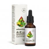 Aura Herbals, Witamina A+E, krople, 30 ml