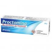 Proctomina, żel chłodzący na hemoroidy, 30g