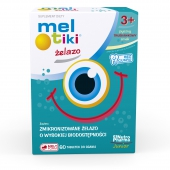 Mel-tiki Żelazo, 60 tabletek do ssania
