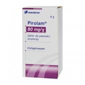 Pirolam 0,08g/g, lakier leczniczy, 4g