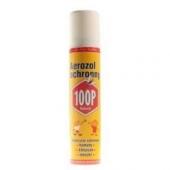 100P, aerozol ochronny przeciw ukąszeniom komarów, kleszczy i meszek, 75ml