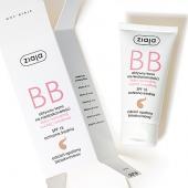 ZIAJA BB, aktywny krem na niedoskonałości, skóra normalna, sucha i wrażliwa, odcień opalony, 50ml