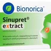 Sinupret extract, 20 tabletek