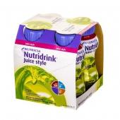 Nutridrink Juice Style o smaku jabłkowym, 200ml (1 sztuka)