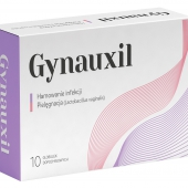 Gynauxil, globulki dopochwowe, 10 globulek
