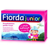 Fiorda Junior Malina, 15 pastylek