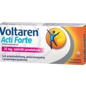 Voltaren Acti Forte 25mg, 20 tabletek powlekanych