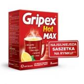 Gripex Hot MAX, 12 saszetek