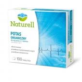 Naturell, Potas organiczny, 100 tabletek