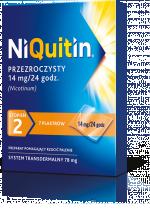 Niquitin, 14mg/24h (stopień 2), 7 plastrów transdermalnych