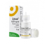 Zabak, 0,25mg/ml, krople do oczu, 5ml