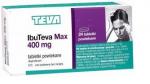 IbuTeva Max 400mg (Ifenin), 24 tabletki powlekane