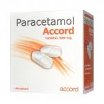 Paracetamol Accord 500mg, 100 tabletek